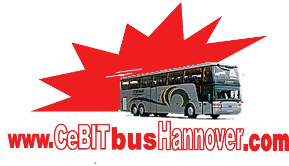 CeBIT bus Hannover 2014